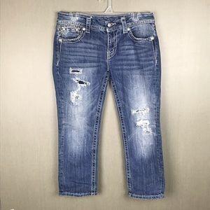 Miss Me Signature Crop Jeans Size 29